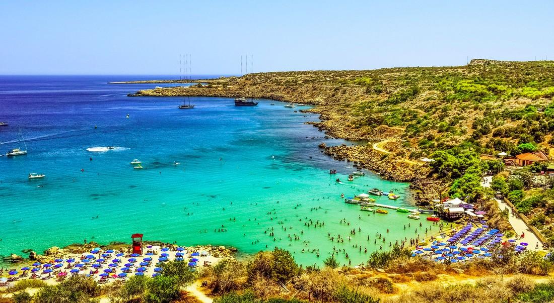 Кипр в июле посетило более 0.5 млн туристов, россияне на втором месте