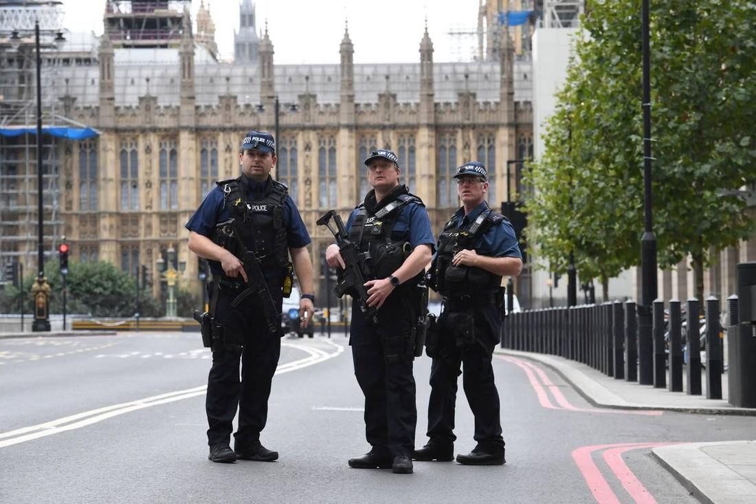 В Лондоне у здания парламента автомобиль врезался в толпу, наезд сочли терактом