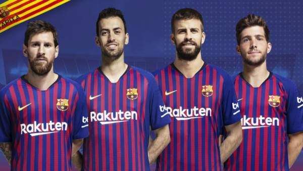 «Барселона» объявила имена четырех капитанов на новый сезон