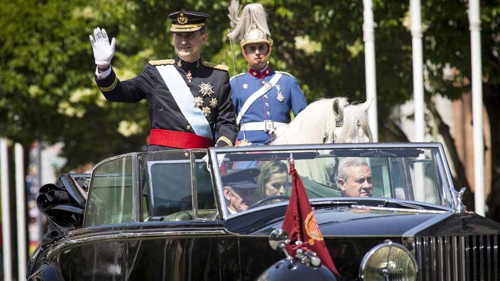 Rolls-Royce короля Испании Филиппа VI попал в тройку самых дорогих служебных авто глав государств