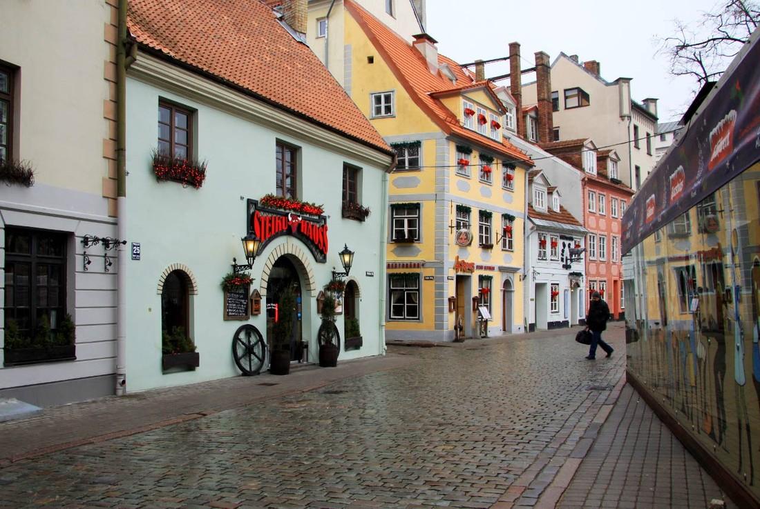 Латвия отметила 7% прироста турпотока, Россия на втором месте