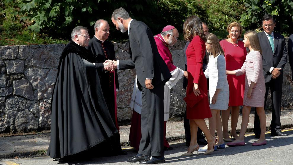 Принцесса Леонор посетила Астурию с первым рабочим визитом