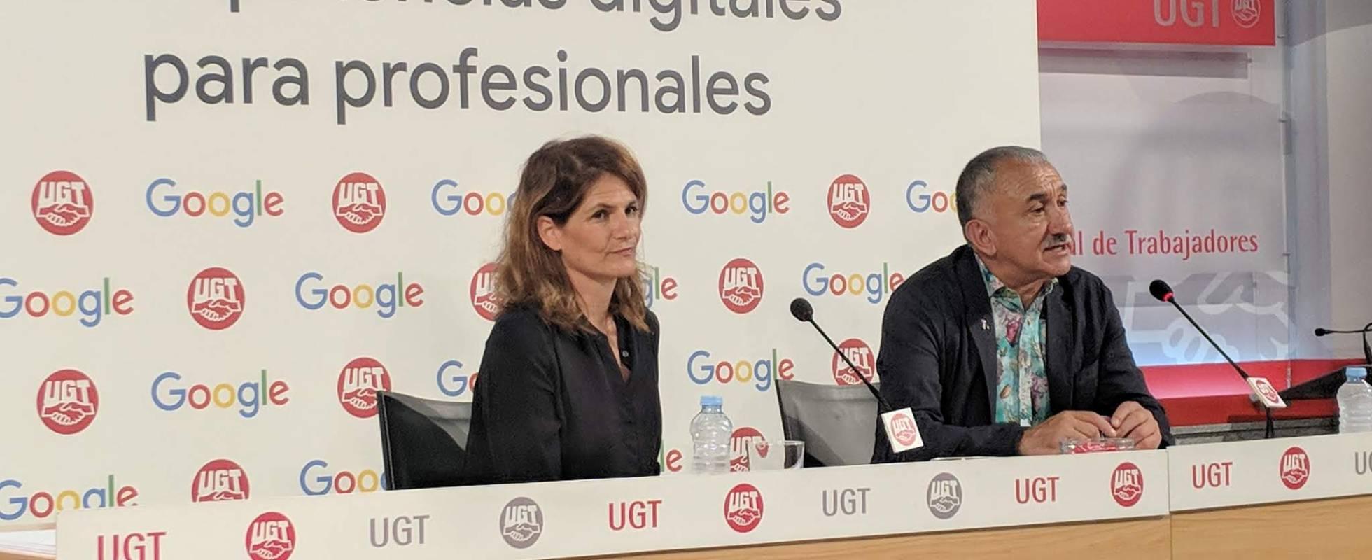 Google и Всеобщий союз трудящихся займутся ликвидацией цифровой безграмотности испанских работников
