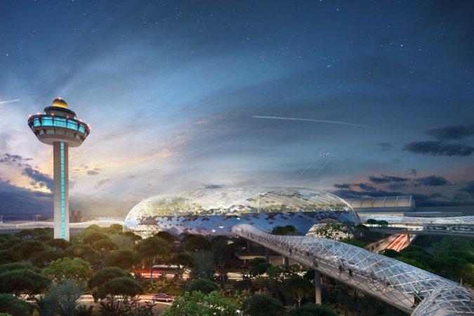 Аэропорт Чанги начал внедрять технологии будущего