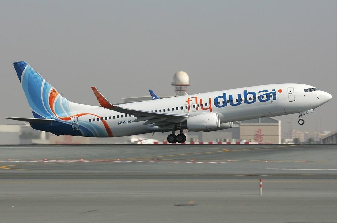flydubai отменяет рейс Уфа-Дубай