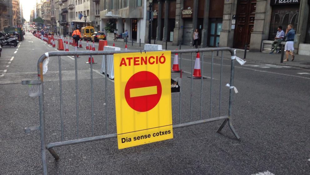 Во Всемирный день без автомобилей в Барселоне перекроют Via Laietana и Gran de Gràcia