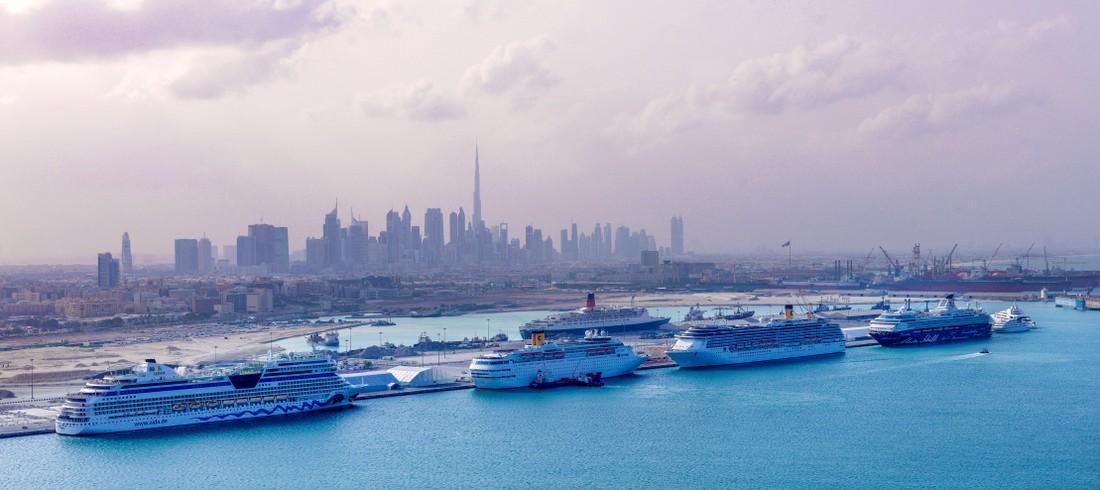 За 3 года число круизных туристов в Дубае выросло на 95%