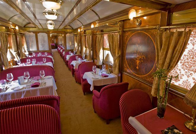 Путешествие в шикарном поезде Al-Andalus в формате 360º