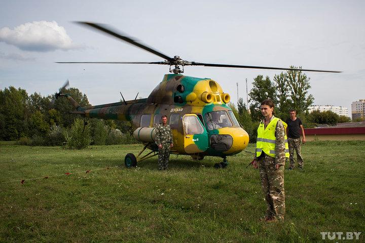 В Гродно местные ругаются из-за экскурсий на вертолете: одним мешает шум, вторые хотят летать