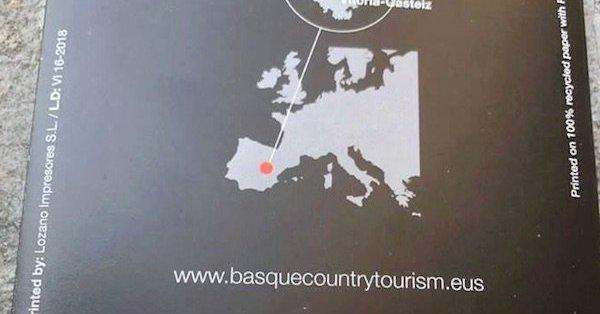 Туристический буклет поместил Страну Басков на территорию Кастилии-Ла-Манчи