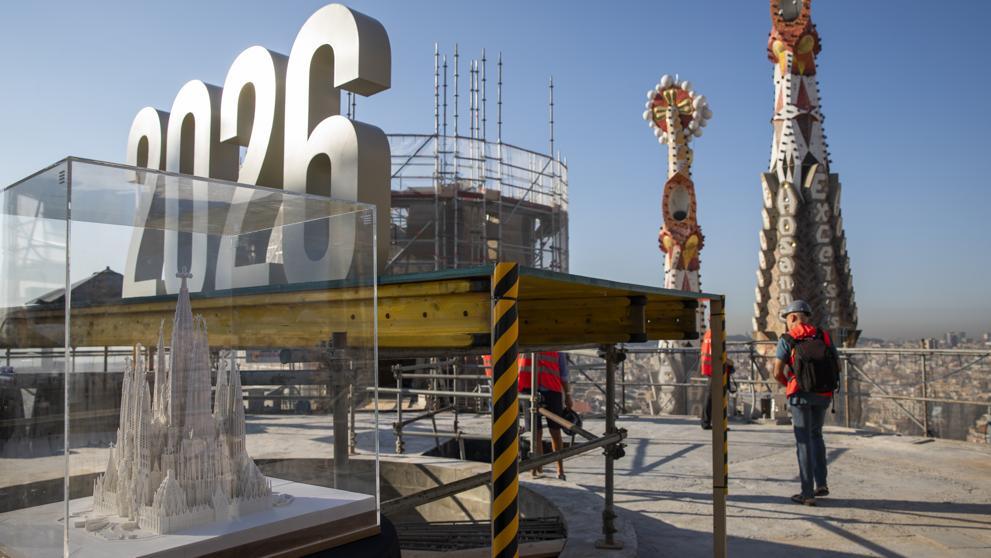 Храм Саграда Фамилия будет выше 100 метров