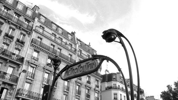 Рукоприкладство в парижском метро