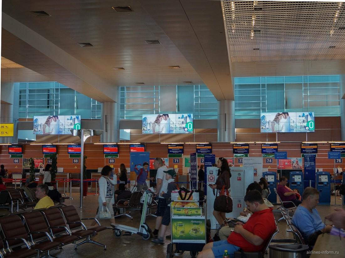 За август российские авиакомпании увеличили объем перевозки на 8.2%