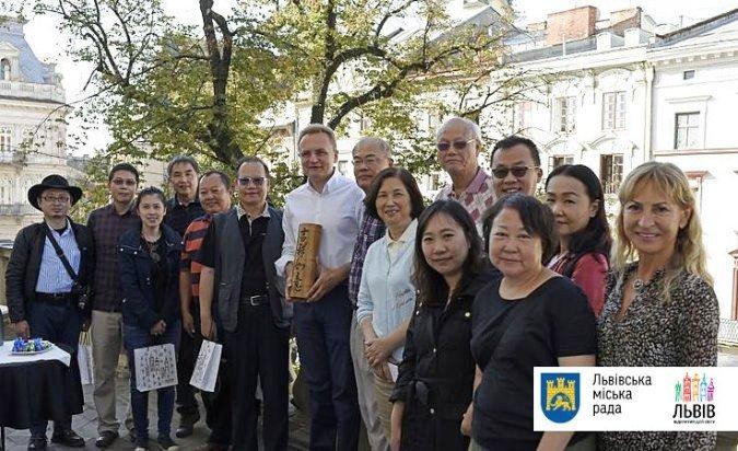 Туроператоры из Тайваня посетили Львов не напрасно