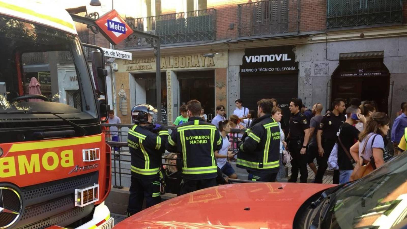 Взрыв ноутбука вызвал панику в мадридском метро