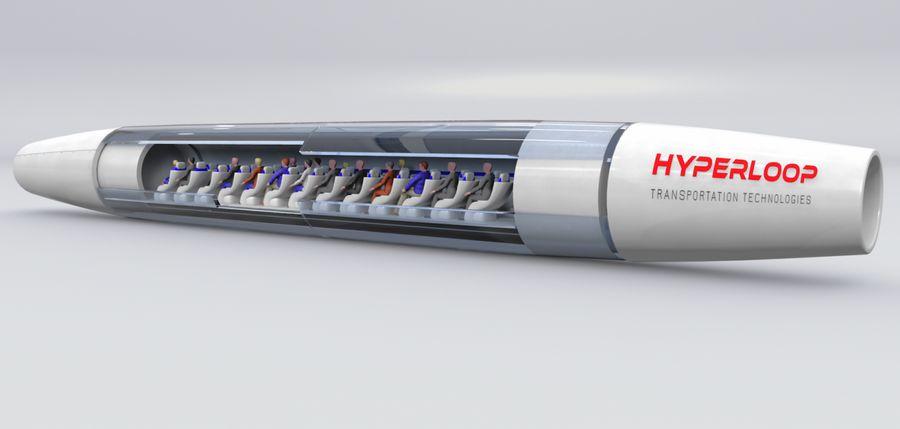 Первая линия Hyperloop в Испании будет создана в 2019 году