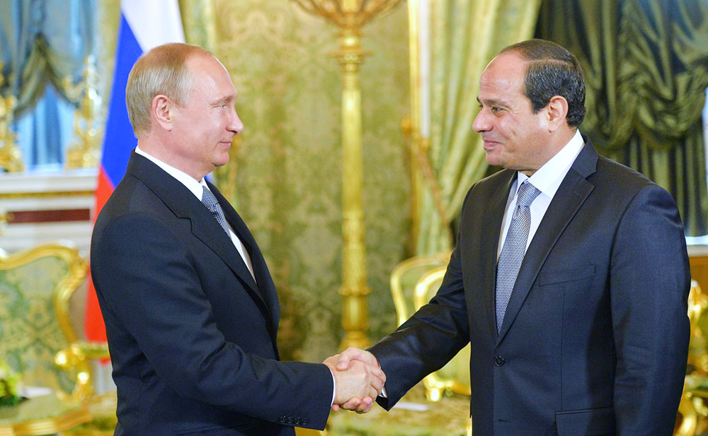 Президент Египта задал Путину вопрос о восстановлении чартеров