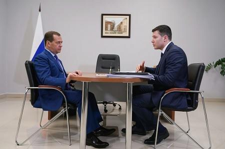 Дмитрий Медведев обратил внимание на туристический потенциал Калининградской области