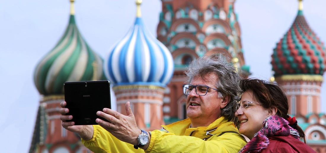 Интуристов больше всего привлекали Москва, Петербург и Иркутск
