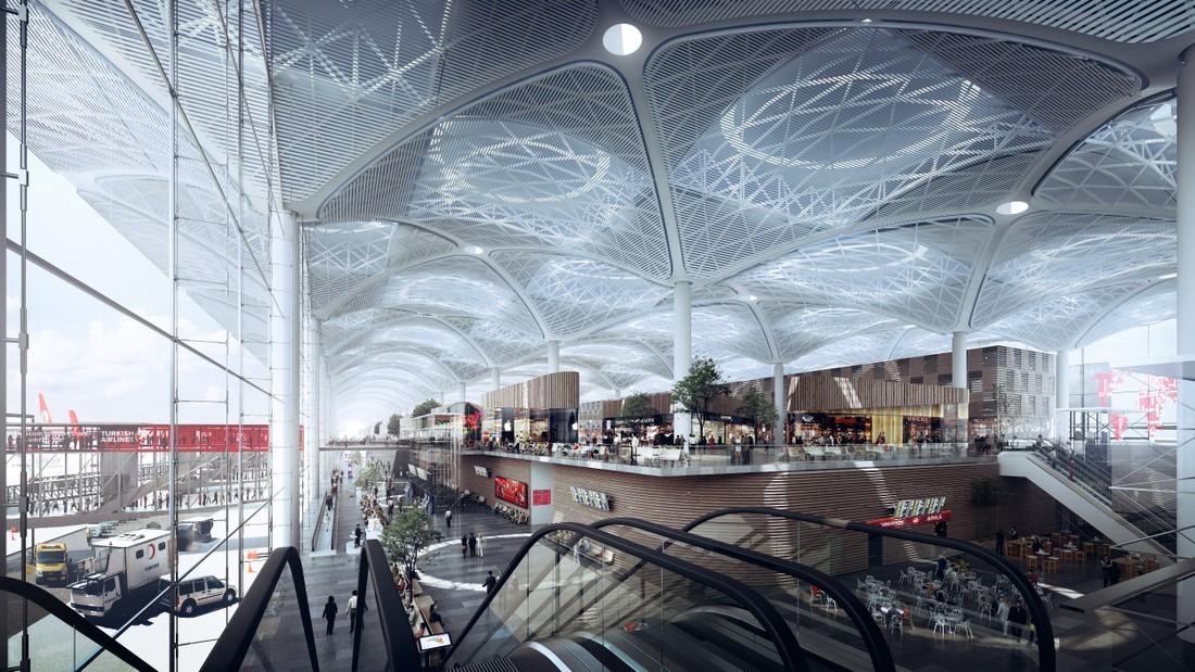 В Стамбуле завершился первый этап строительства аэропорта, претендующего на место крупнейшего в мире