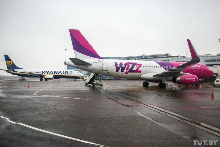 Спрос и разумные тарифы аэропортов. RyanAir и WizzAir ответили, что нужно для прихода в Беларусь