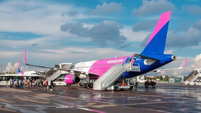 WizzAir уже летит в Вену