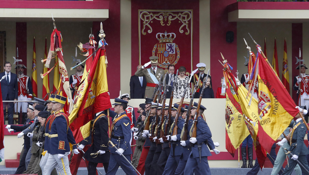 Из-за военного парада 12 октября в Мадриде будет перекрыто движение по ряду улиц