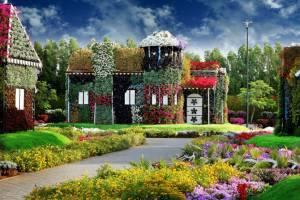 В Дубае открылся обновленный цветочный парк Miracle Garden