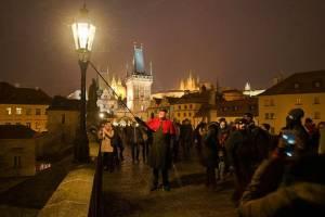 Еще один способ привлечь удачу в Праге. Только в декабре