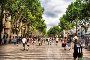 Улицу Рамбла в Барселоне будут реконструировать