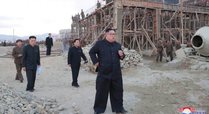 Ким Чен Ын не доволен ходом строительства зоны для туристов в КНДР