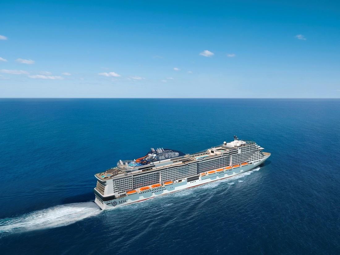 Через 100 дней MSC Cruises выпустит новый лайнер MSC Bellissima