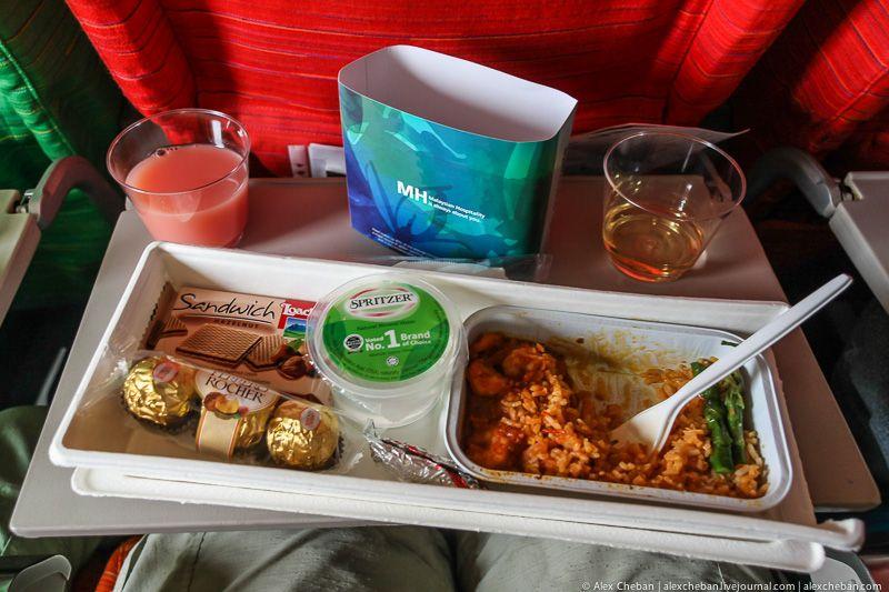 Составлен рейтинг авиакомпании с лучшей и худшей едой на борту