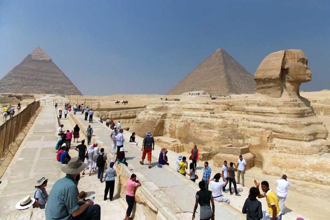Количество туристов в Египте выросло в 2018 году на 40%
