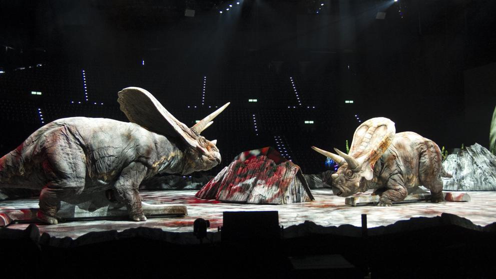 Знаменитое шоу динозавров впервые приедет в Испанию 22 ноября
