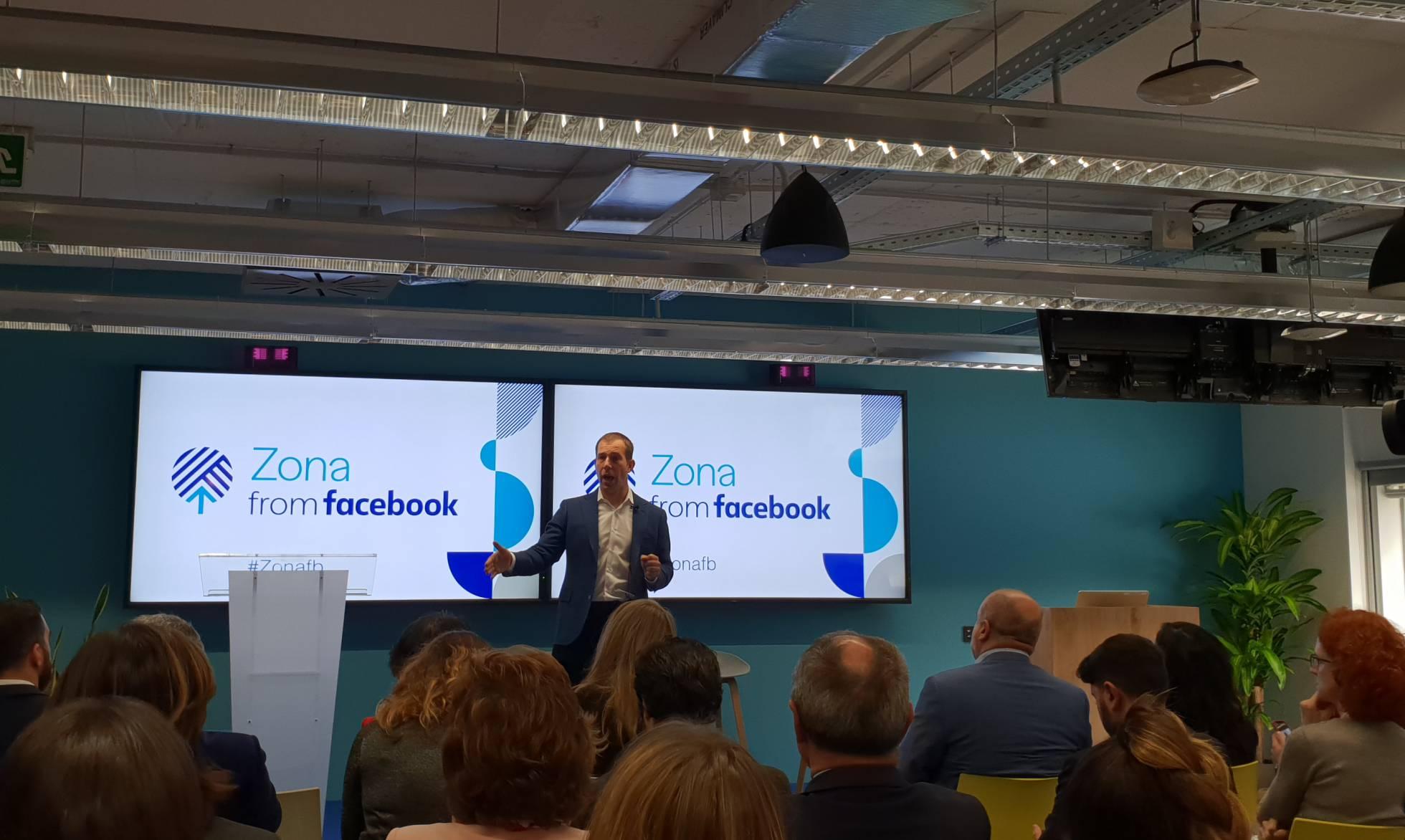 Facebook открыл пространство в Мадриде для обучения населения цифровой грамотности