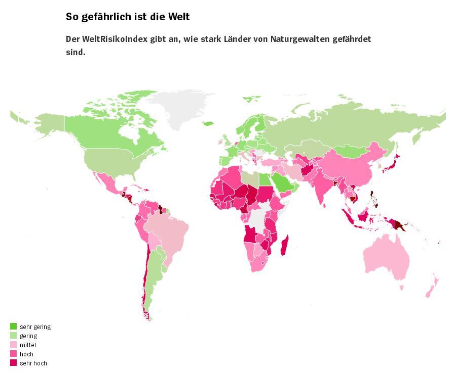 Стихийные бедствия: рейтинг самых опасных для туристов стран