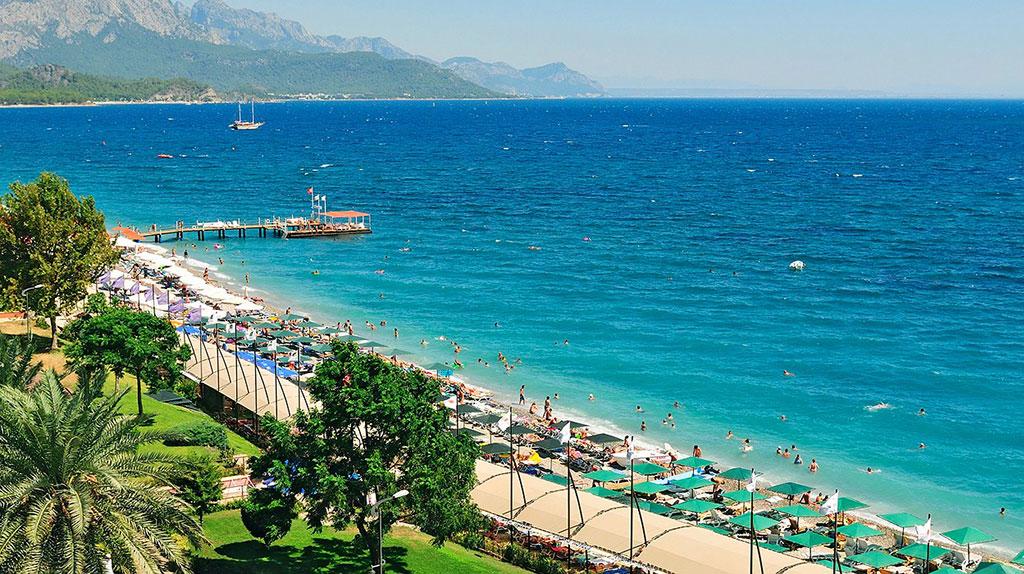 Турцию посетили более пяти миллионов российских туристов