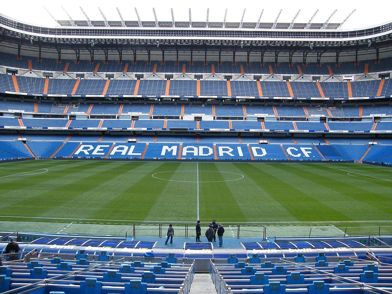 Работы над обновлением стадиона «Сантьяго Бернабеу» начнутся в мае