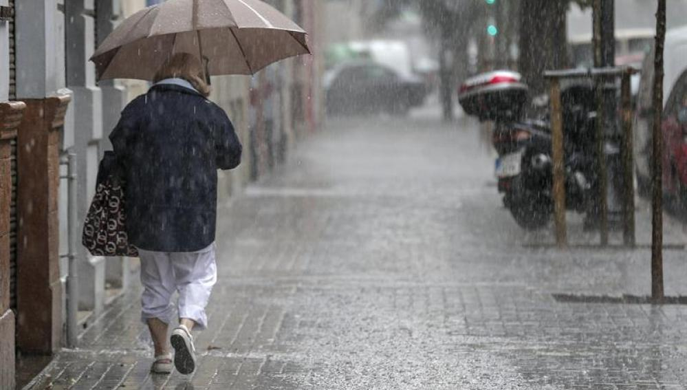 На половину Испании пришла дождливая погода