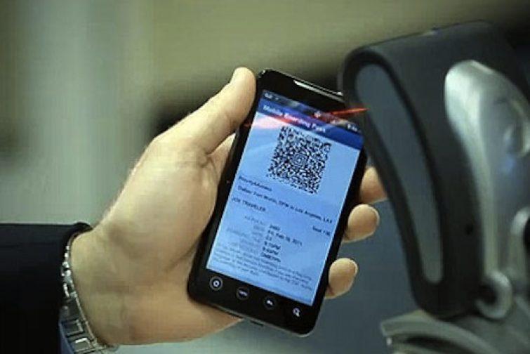 Бумажный посадочный талон за доплату: проход в самолёт будет по смартфону