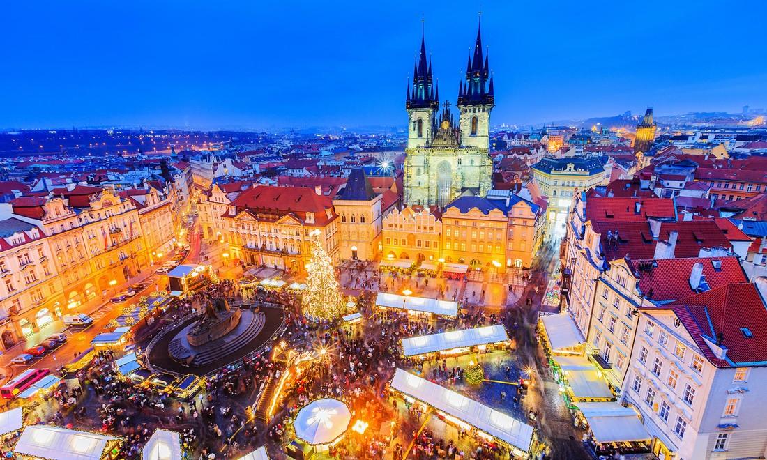 На Рождество туристы выбрали Прагу, Париж и Рим