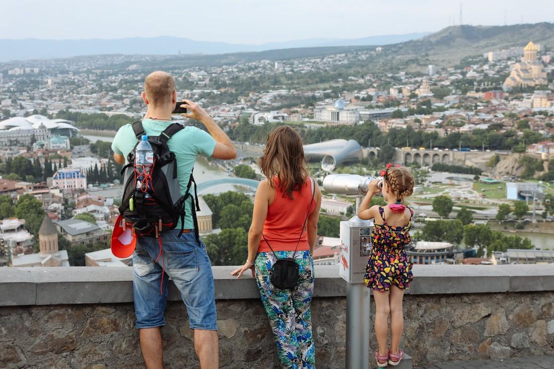 Российские туристы составили большинство в Грузии – до 1.24 млн туристов