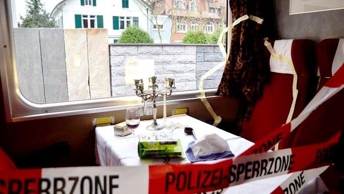 Туристическая школа разыграла убийство в Восточном экспрессе