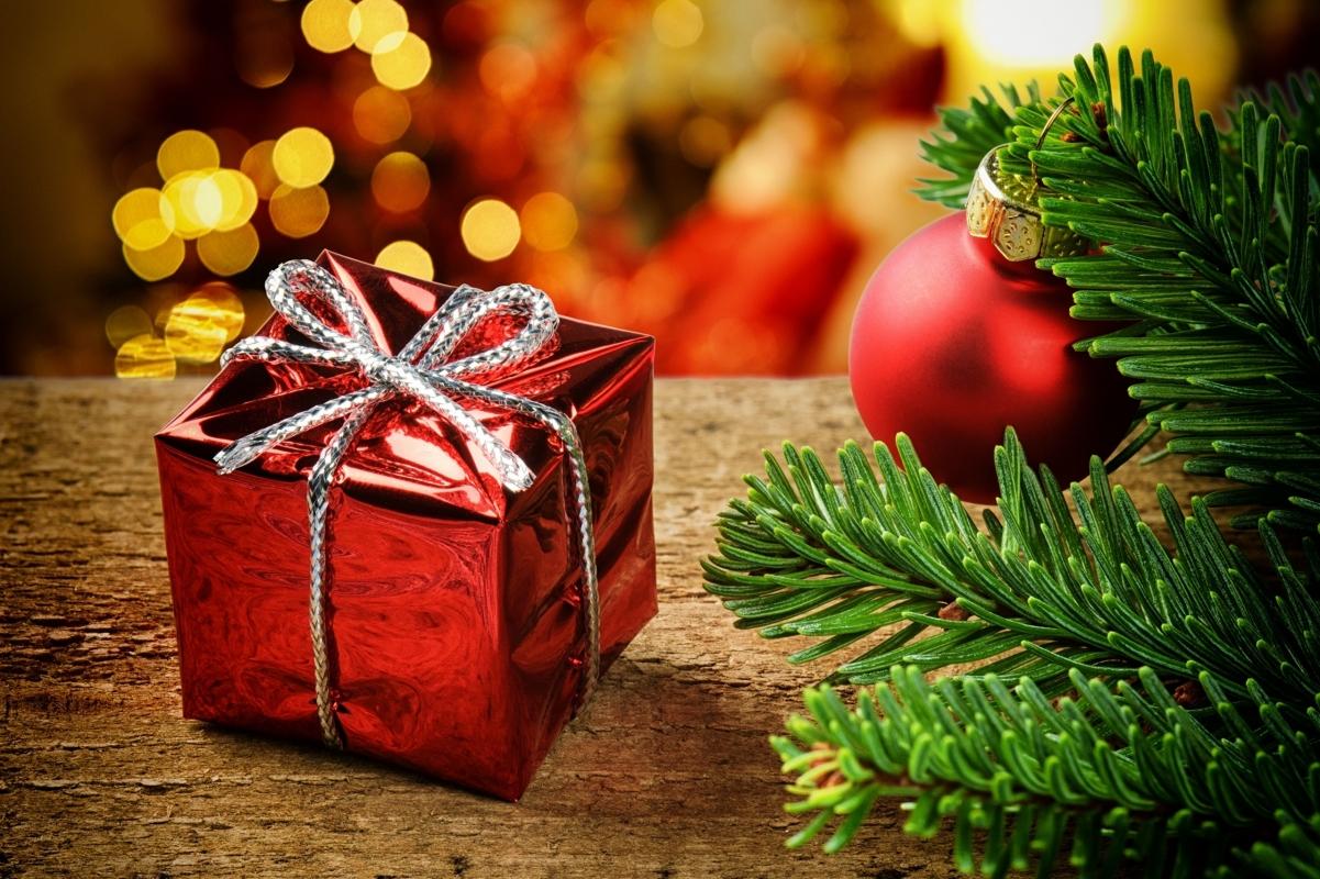 Новогодние корзины в подарок для сотрудников