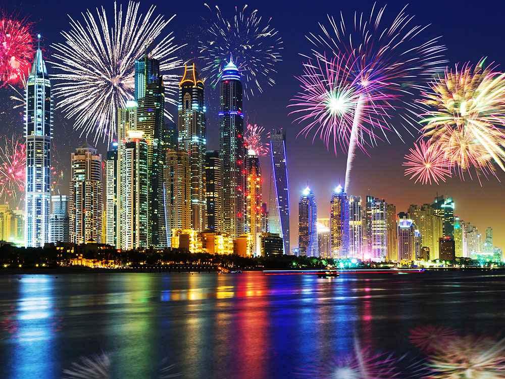 Новый год в Дубае: куда пойти?