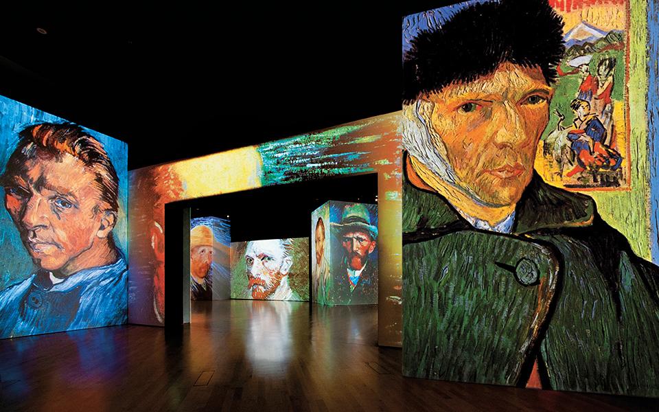 В Мадриде проходит самая популярная в мире мультисенсорная выставка Van Gogh Alive