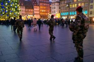 В Страсбурге после теракта отменены все массовые мероприятия