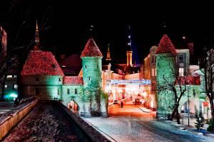Чем порадует туристов новогодняя ночь в Таллине: праздничная программа
