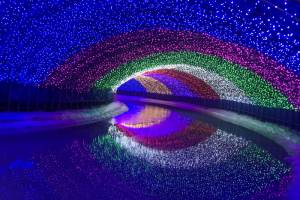 Фестиваль ледяных фонтанов открылся в горах Южной Кореи